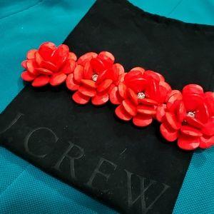 ❤ J. Crew Flower Bracelet ❤💃